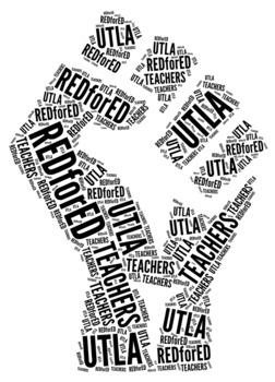 UTLA TEACHER STRIKE - .PNG file