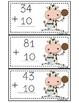 Udderly Moooo-velous Math (2 Digit Addition)