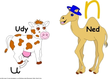 Udy and Ned U N Letter Confusion Pack