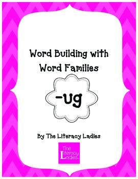 """""""Ug"""" Word Family Lesson Plan"""
