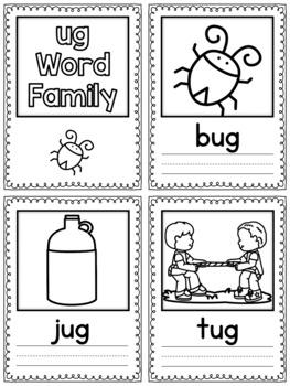 Ug word family packet