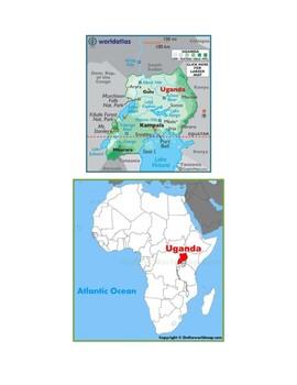 Uganda Map Scavenger Hunt