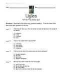 Uglies Literature Unit - Part II Quiz