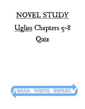Uglies Quiz Chapters 5-8
