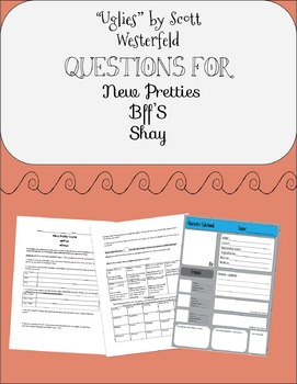 """Uglies"" by Scott Westerfeld Chapters 1-3 Questions"