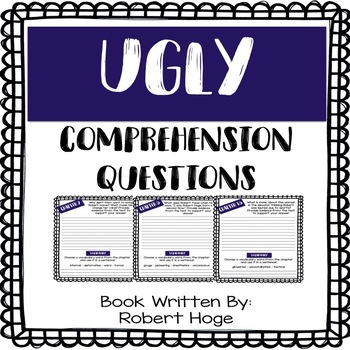 Ugly - A Memior by Robert Hoge - Comprehension Questions