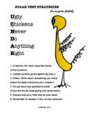 Ugly Chickens Standardized Test Taking Practice Strategies {Science STAAR}