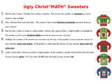 Ugly Christ-math Sweaters