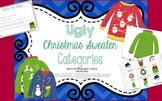 Ugly Christmas Sweater Categories