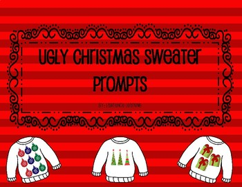 Ugly Christmas Sweater Craftivity