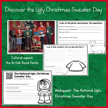 Ugly Christmas Sweater Activities