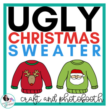 Christmas Craft Activity - Ugly Christmas Sweater