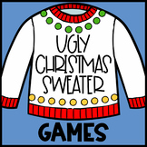 Ugly Christmas Sweater Games |  Speech and Language Therapy Games
