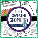 Ugly Christmas Sweater Geometry Translation Craftivity