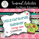 Ugly Christmas Sweater Interactive Game {Fa - S,L,DRMFSLD'}