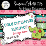 Ugly Christmas Sweater Interactive Game {S,L,DRMSLD'}