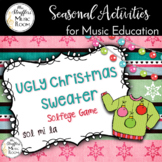 Ugly Christmas Sweater Interactive Game {Sol La Mi}