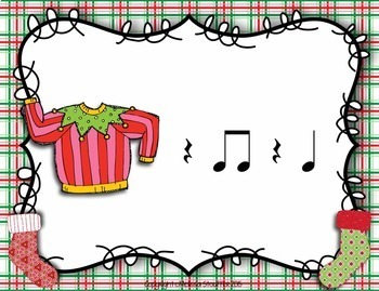 Ugly Christmas Sweater Interactive Game {Ta Rest}