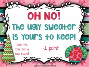 Ugly Christmas Sweater Interactive Game {Tam Ti}