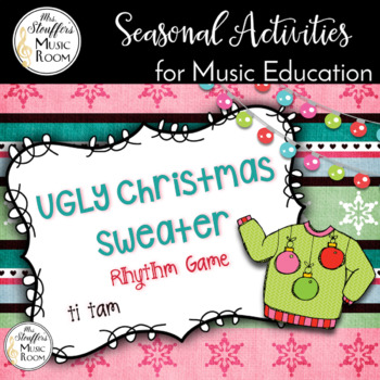 Ugly Christmas Sweater Interactive Game {Ti Tam}