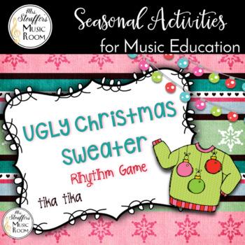 Ugly Christmas Sweater Interactive Game {Tika Tika}