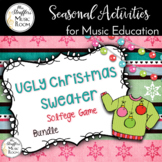 Ugly Christmas Sweater Interactive Solfege Games {Bundle}