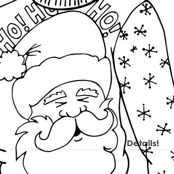 ugly christmas sweater party clipart outlines christmas coloring line art