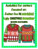Ugly Christmas Sweater/ Suéter feo de navidad Centers