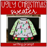 Ugly Christmas Sweater Writing