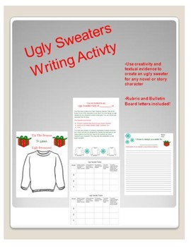 Ugly Christmas Sweater Writing Assignment
