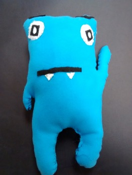 Ugly Dolls Sewing Lesson, Powerpoint, worksheet, and scoring guide