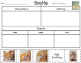 Ugly Duckling Story Map