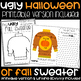 Ugly Halloween or Fall Sweater-Google Classroom and Printable Version