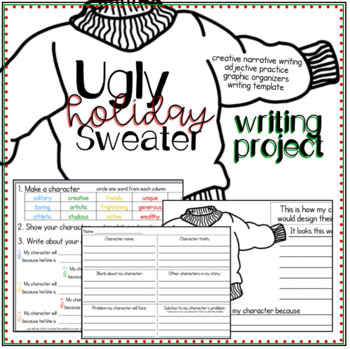 Ugly Holiday Sweater Writing Project