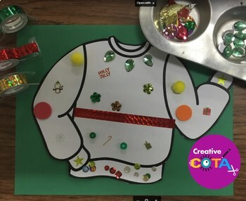 Ugly Holiday or Christmas Sweater Activities
