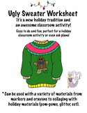 Ugly Sweater Activity