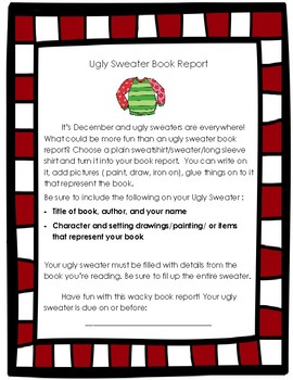 Ugly Sweater Book Report