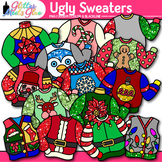Ugly Sweater Clip Art | Christmas Clipart for Teachers