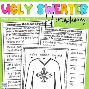 Ugly Sweater Homophones