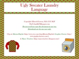 Ugly Sweater Laundry - Language Game