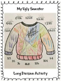 Ugly Sweater Long Division Activity