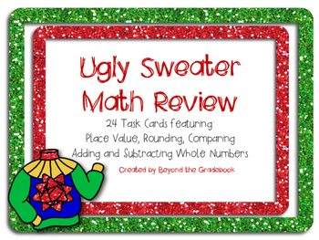 Ugly Christmas Sweater Math Teaching Resources Teachers Pay Teachers