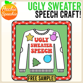 Ugly Sweater Speech Craft: Free Sample R-Blends