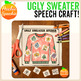 Ugly Sweater Speech Craft: Free Sample R-Blends