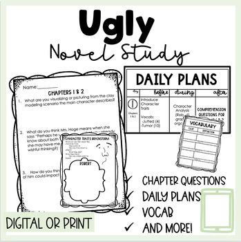 Ugly by Robert Hoge Novel Study