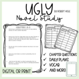 Ugly by Robert Hoge Novel Study