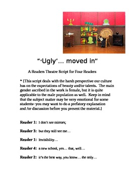 """Ugly moved in (A Readers Theater Script)"" [*New Book Trailer]"