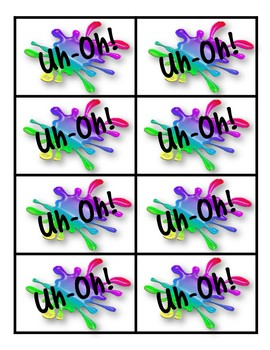 Uh-Oh! A Sight Word Game