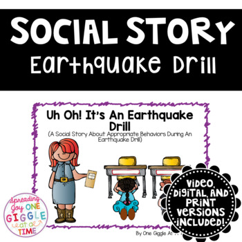 uh oh its an earthquake drill a social story by one