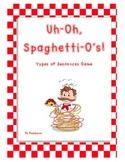 Uh-Oh, Spaghetti-Os Types of Sentences Game